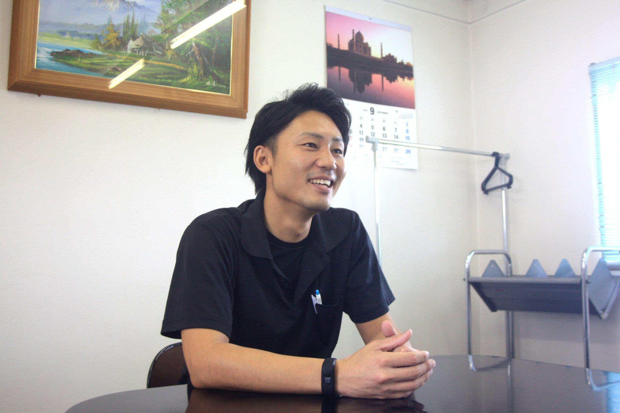 先輩へのインタビュー